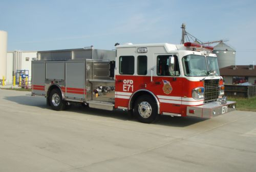 Omaha Fire Department Engine 72