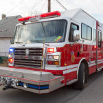 OFD Rescue 33 at vacant house fire