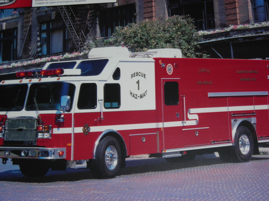 Omaha Fire Department Rescue 60