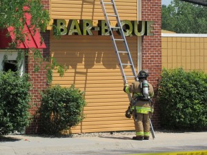 Famous Dave's Fire June 9th, 2016